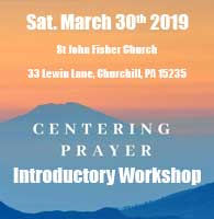 Intro to Centering Prayer Workship